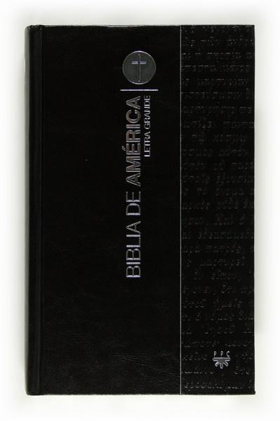 Biblia de América. Letra Grande [Cartoné]