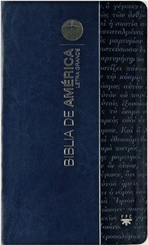Biblia de América. Letra Grande [Flexible]