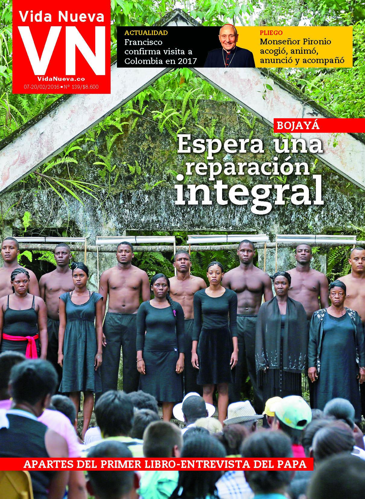 Vida Nueva Colombia Edición 139, Formación Humana y Religiosa. Revista